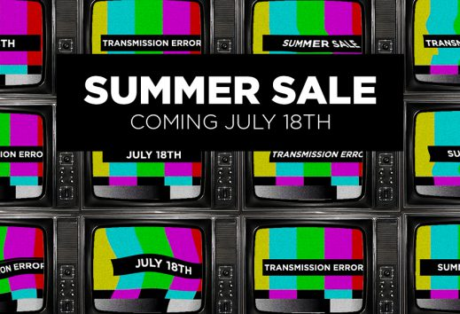 The Summer Sale is almost here!