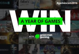 Win a year's worth of games! #Gamescom2016