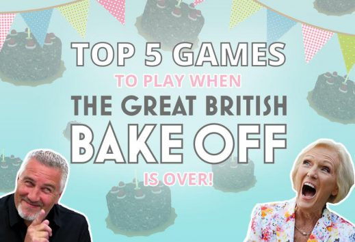 Top 5 games to play when The Great British Bake Off finishes