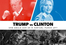 Trump Vs Clinton: Who Would Win In A Virtual Punch Up?