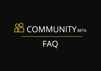 New Community platform FAQ