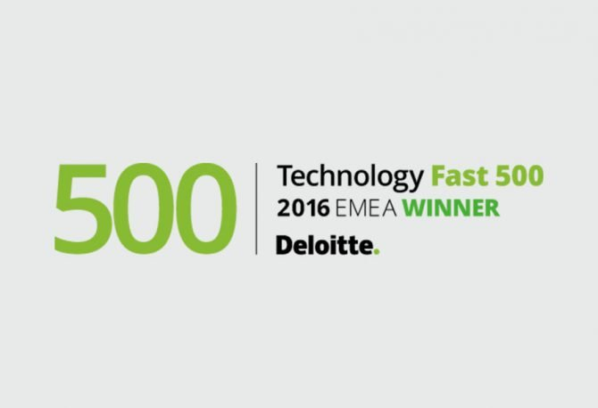 We've been recognised in EMEA's Top 500 fastest-growing companies list