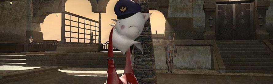 Final Fantasy XIV moogle
