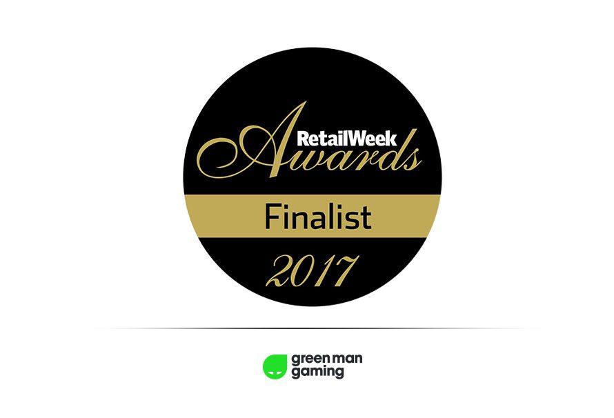 Green Man Gaming Finalists At Retail Week Awards 2017