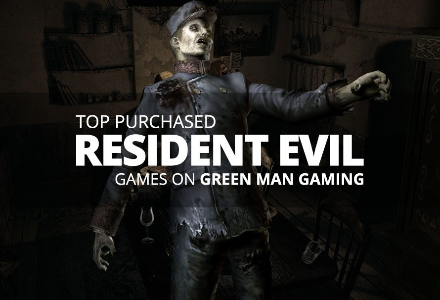 Top Purchased Resident Evil Games On Green Man Gaming