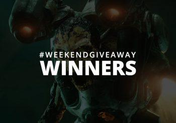 #WeekendGiveaway Winners - DOOM