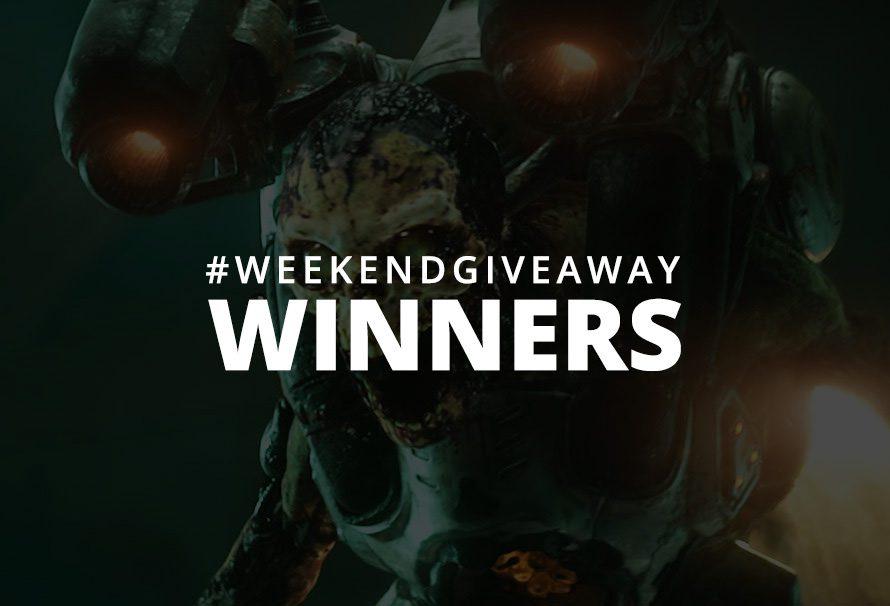 #WeekendGiveaway Winners – DOOM