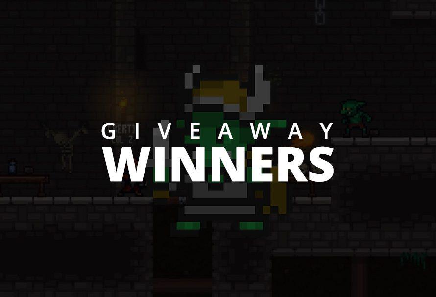 Goblins & Grottos – Giveaway Winners!