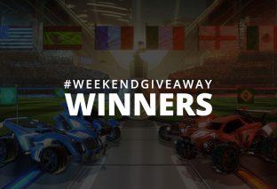 #WeekendGiveaway Winners - Rocket League!