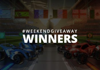 #WeekendGiveaway Winners - Rocket League!