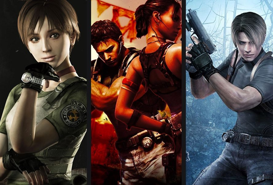 #WeekendGiveaway – Win 1 of 3 Resident Evil Titles