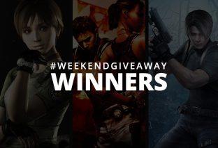 #WeekendGiveaway Winners - Resident Evil Titles