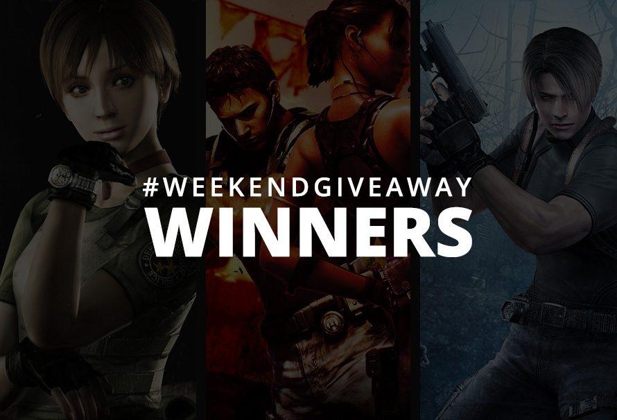 #WeekendGiveaway Winners – Resident Evil Titles