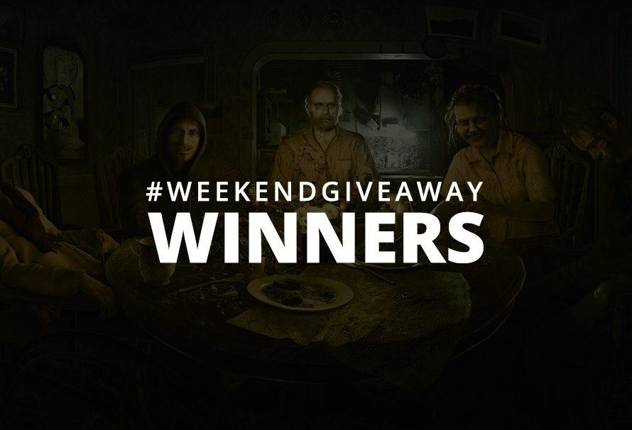 #WeekendGiveaway Winners – Resident Evil 7
