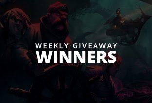 #WeeklyGiveaway Winners - Diluvion