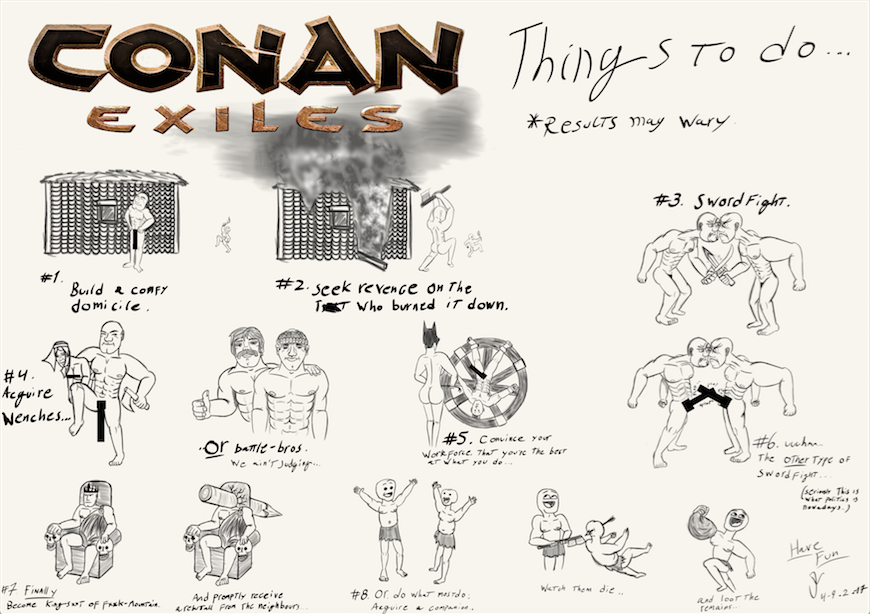 Things to do in Conan Exiles
