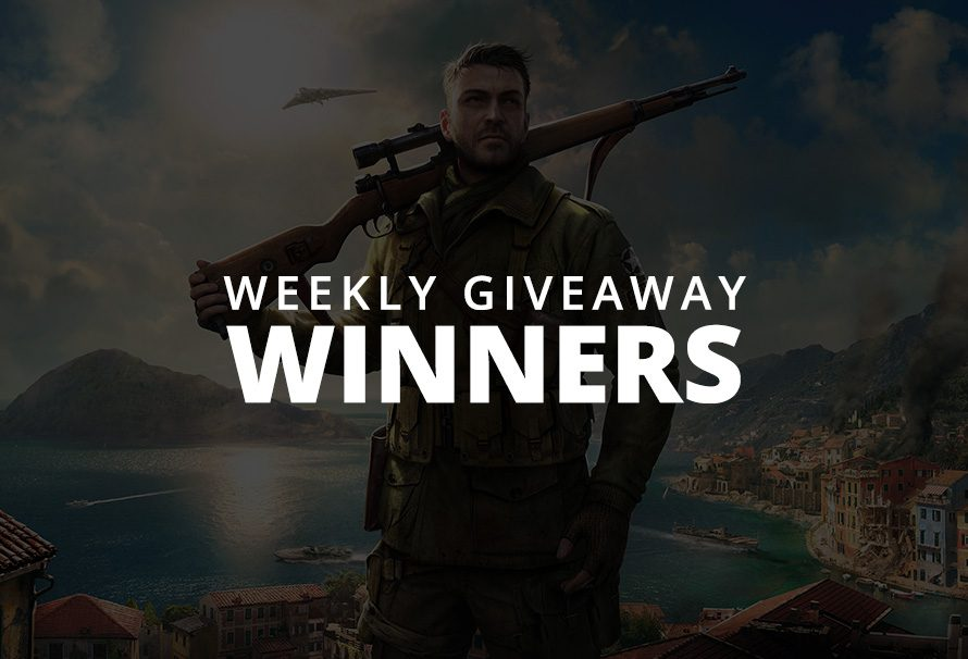 #WeeklyGiveaway Winners – Sniper Elite 4!