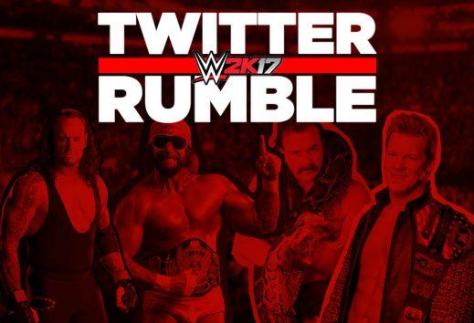 WWE2k17 Twitter Rumble!