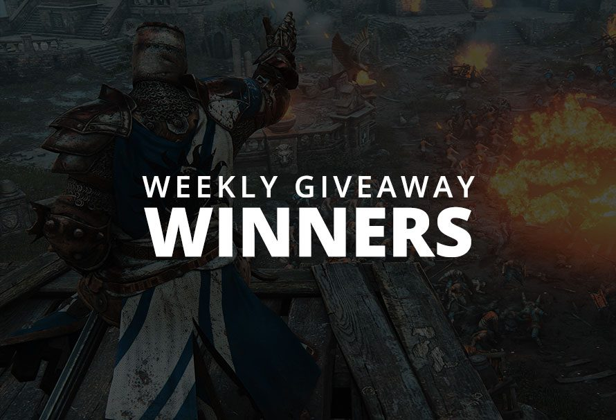 #WeeklyGiveaway – For Honor Winners!