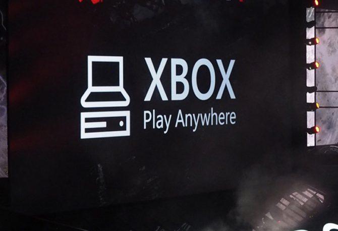 Xbox Play Anywhere Codes