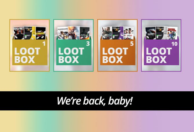 Loot Boxes Are Back