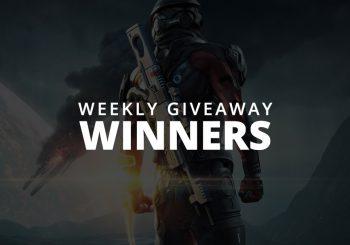 #WeeklyGiveaway - Mass Effect Andromeda Winners!