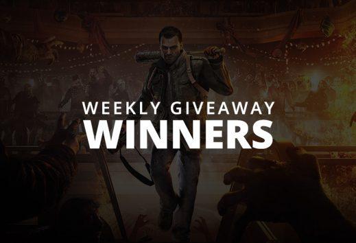 #WeeklyGiveaway Winners - Dead Rising 4!
