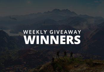 #WeeklyGiveaway Winners - Ghost Recon: Wildlands!