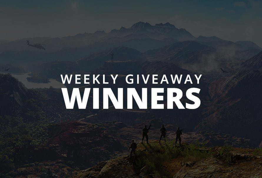 #WeeklyGiveaway Winners – Ghost Recon: Wildlands!