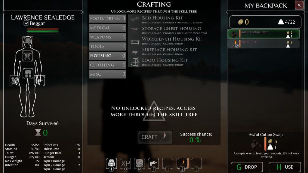 black craft game