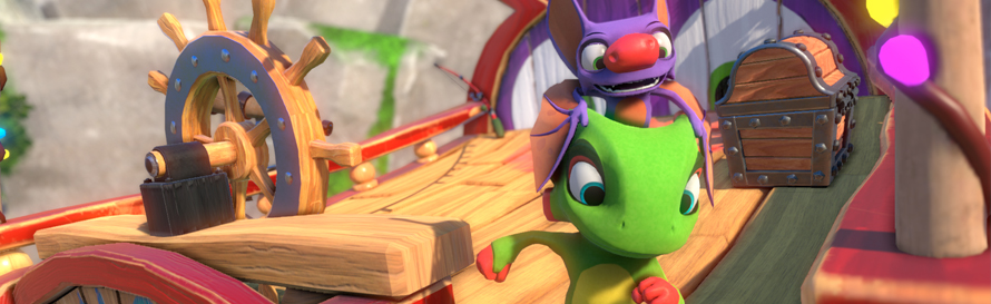 Yooka and Laylee
