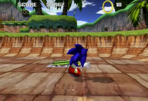 News Footage And Details Of Cancelled Sonic Skateboard Game