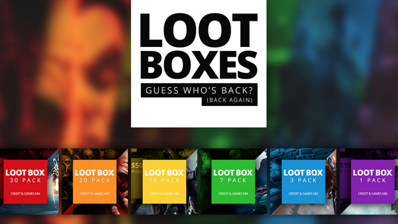 Win a Loot Box with 30 Games Inside! - Green Man Gaming Blog