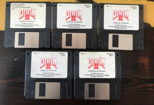 Doom 2 Floppy Disk Up For Auction Reaches Over $3,000