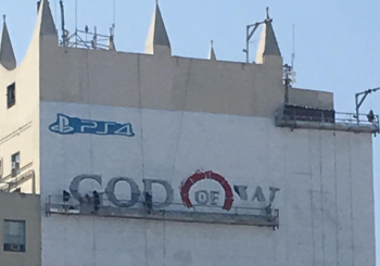 God of War PS4 Advert Spotted