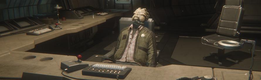 Alien Isolation Facehugger