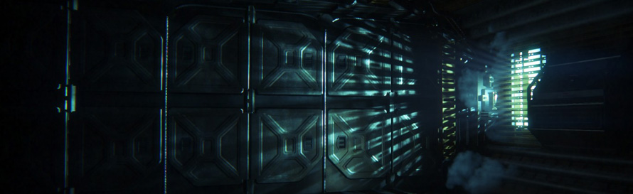 Alien Isolation Lighting