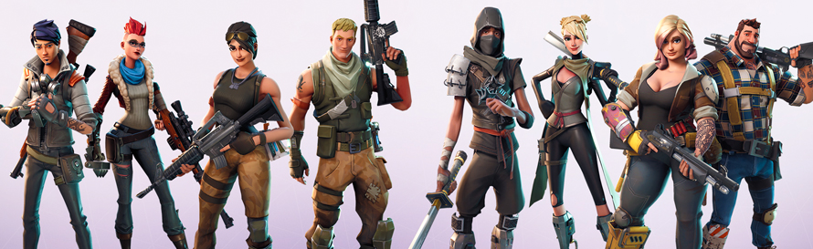 Fortnite heroes and classes