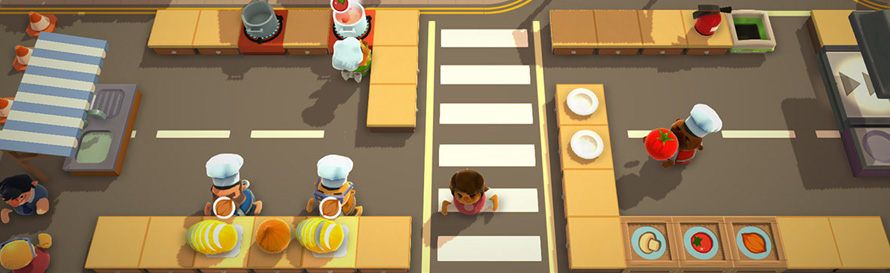 how to play single player overcooked
