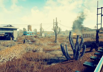 New Images Of PlayerUnknown's Battlegrounds Desert Map