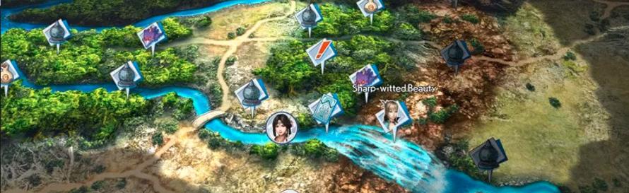 Warriors All-Stars Map