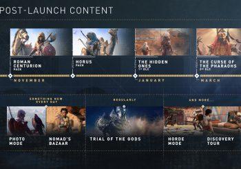 Assassin's Creed: Origins DLC Schedule Unveiled