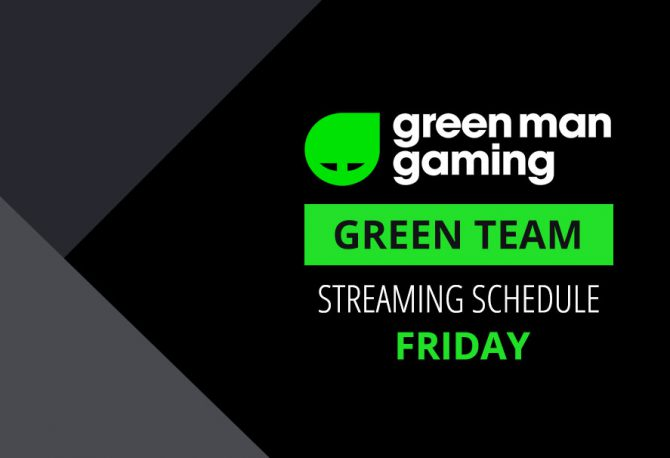 Green Team Streamer Schedule - 19th to 21st January