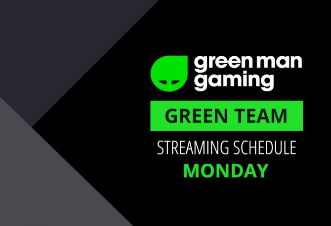Green Team Streamer Schedule - 15th January