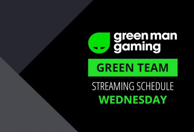 Green Team Streamer Schedule - 18th April