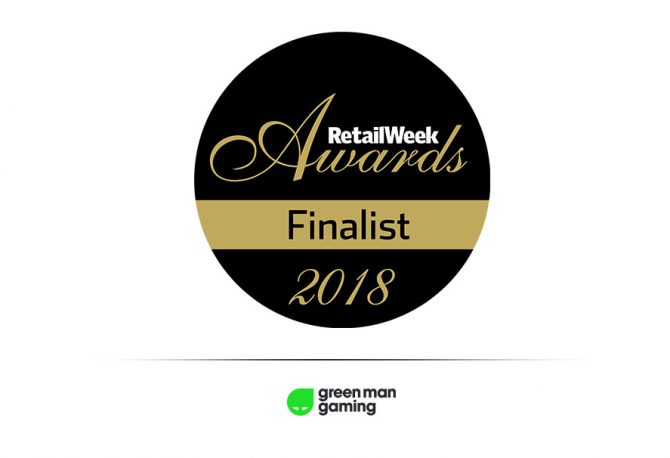 Green Man Gaming Finalist in Retail Week Awards 2018