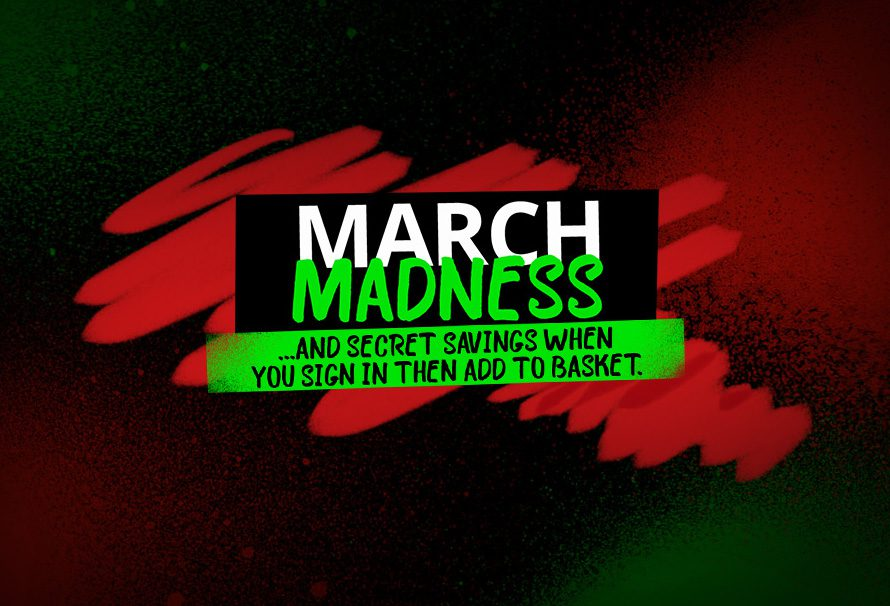 Embrace Madness in the March Madness Sale! [Mystery hints included]
