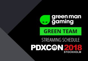 Green Team Streamer Schedule - PDXCON Special
