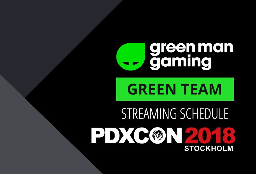 Green Team Streamer Schedule – PDXCON Special
