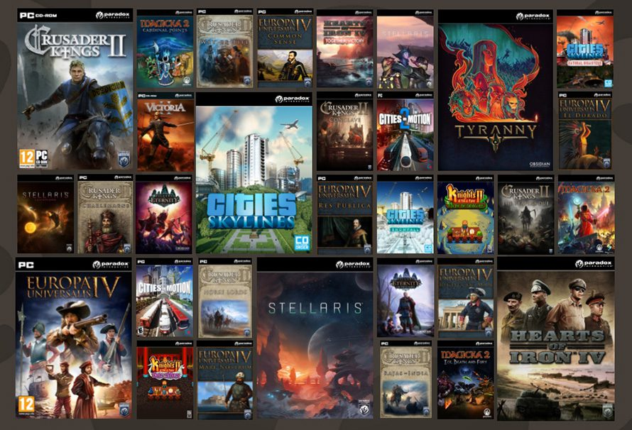 Paradox Games – What GMG Recommends